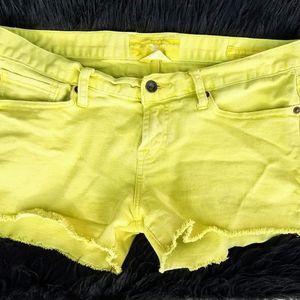 Lucky brand riley shorts size 2